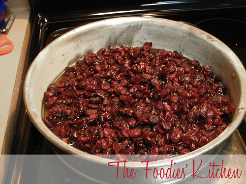 Cranberry Upsidedown Cake