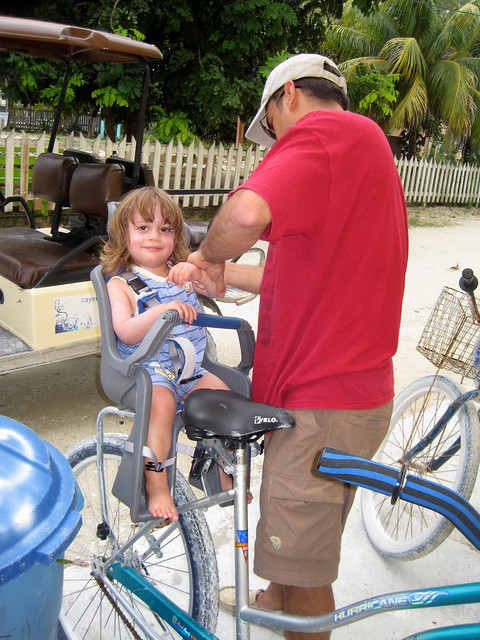 baby time bike rental caye caulker belize