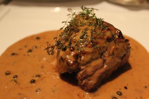 Steak at Carriblu (from a la carte menu)