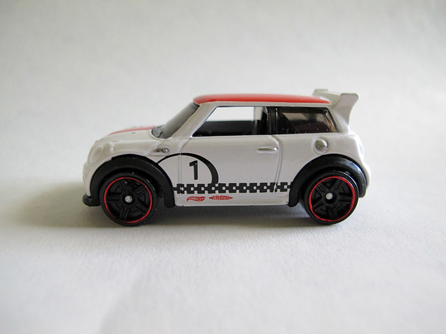White MINI Challenge Hot Wheel