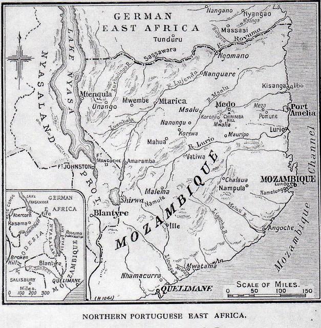 N Mozambique map 1918