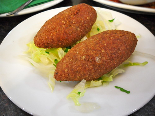 The Prophet Fried Kibbeh