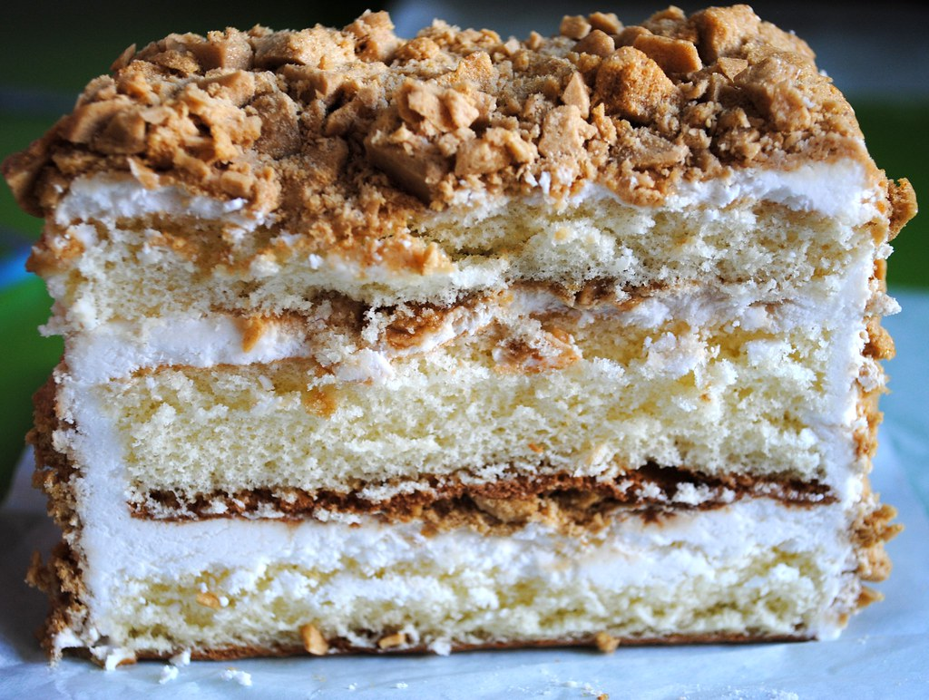 Sweet Shop Japantown San Francisco Coffee Crunch Cake