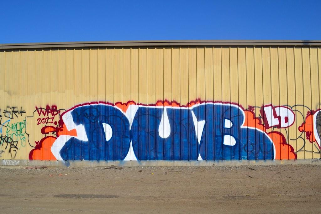 DUB, Graffiti, Street Art, Oakland, LD
