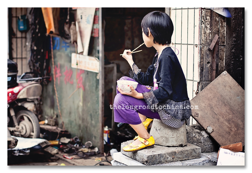 GIrl eating rice2 BLOG