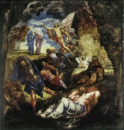Robusti, called Tintoretto (1519 - 1594), The Resurrection of Christ. Ashmolean by renzodionigi