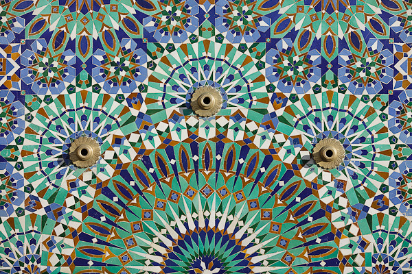 Maroc 2011 - Mosaïque - Casablanca