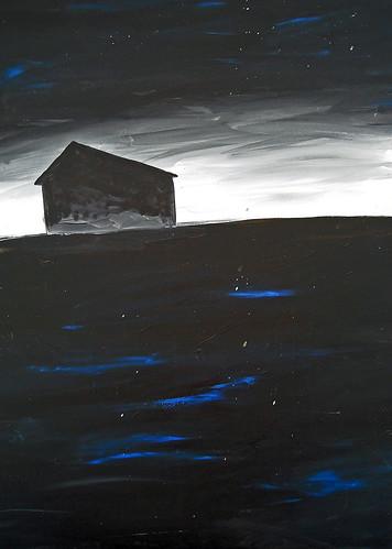 dark landscape by Lorie McCown