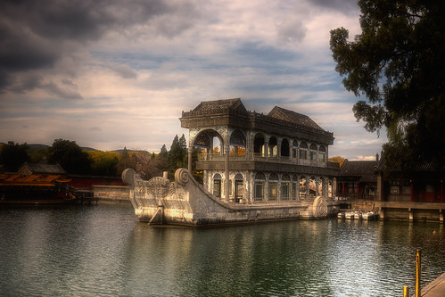 Stone Barge in Summer Palace