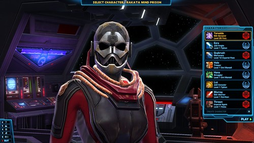 The Old Republic Torvalds the Sith Inquisitor