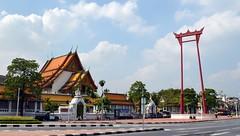 Bangkok - Wat Suthat & Giant Swing (2)