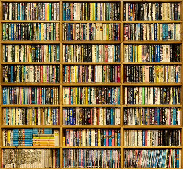 Paperback Bookshelf Flickr Photo Sharing