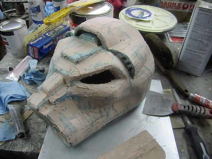 Terminator SM Helmet Fairing Begins