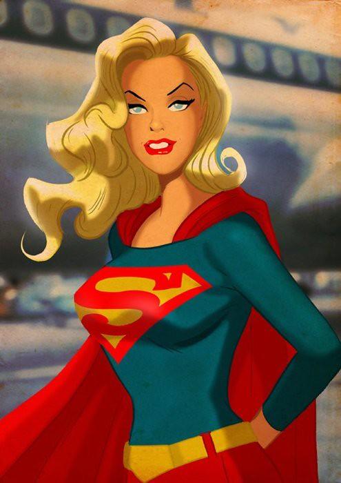 Desenhos Nerds - Super Mulher