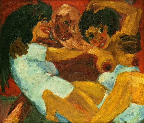 [ N ] Emil Nolde - Saint Simenon et les femmes (1915) by Cea.