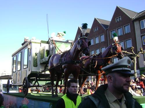 Caballos, Desfile, Carnaval Düren 2011, Alemania/Horses, Parade, Karneval Düren' 11, Germany - www.meEncantaViajar.com by javierdoren