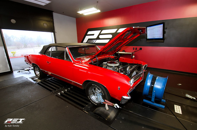 1967 Chevy Chevelle SS 502 on the dyno at PSI