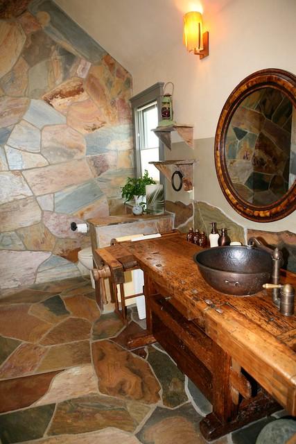 Tree house master bathroom vanity 3 flickr photo sharing - Tree house bathroom ...