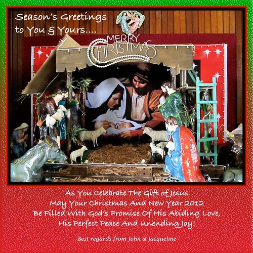 Christmas 2011 and New Year 2012 greeting card