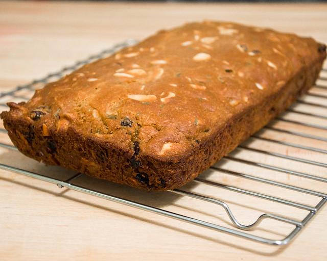 Rosemary Raisin Almond Loaf