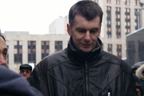 le milliardaire russe: Mikhail Prokhorov