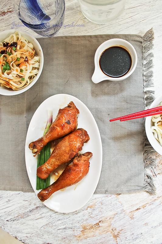 Hong Kong Style Soy Sauce Chicken Hong Kong Style Soy Sauce Chicken 港式酱油鸡腿