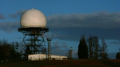 observatory, cloud, water tower, tower, sky,