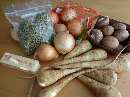 2011.12_parsnip soup ingredients