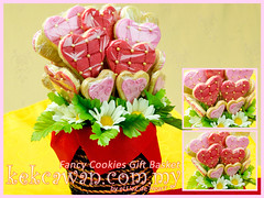 Fancy Cookies Bouquet for Wedding Gift