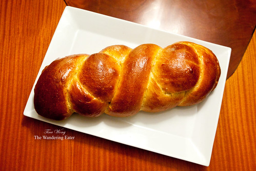 My baked homemade challah bread