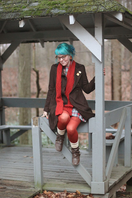 What I Wore: Layered - photo by Kaylah Doolan of the Dainty Squid blog 1