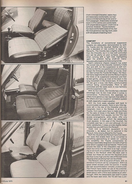 ... Vauxhall Chevette L Group Road Test 1975 (5) | Flickr - Photo Sharing