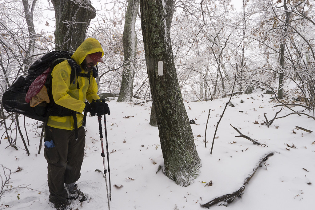 Appalachian Trail, Backpacking, hiking, camping, nature, photography, Snow, virginia