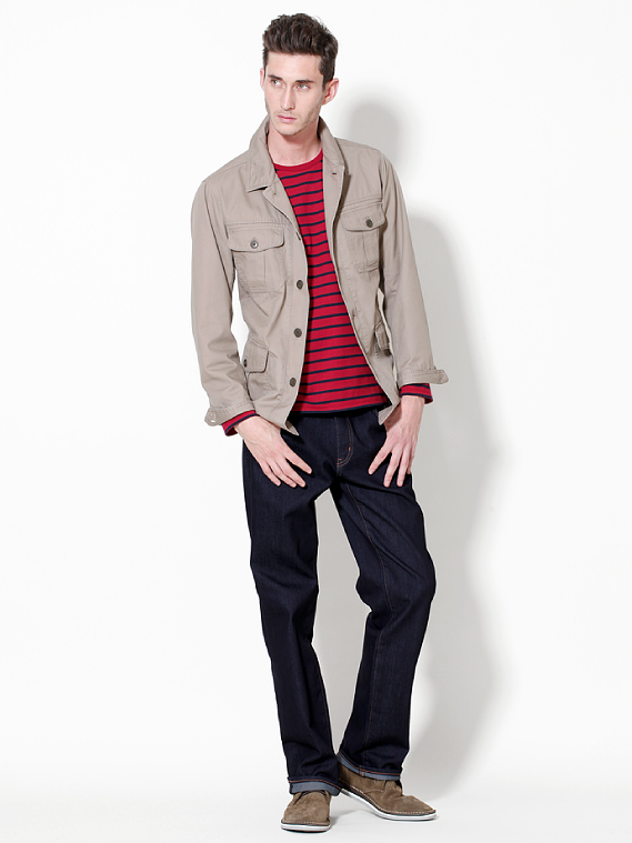 UNIQLO EARLY SPRING STYLE FOR MEN 2012_017Mathias Bilien