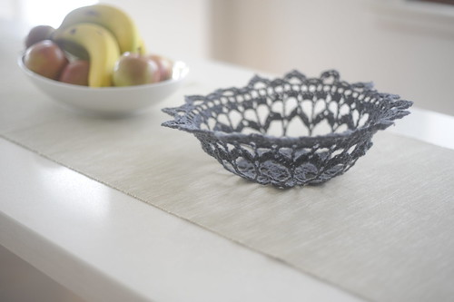 Crochet Doily Bowl