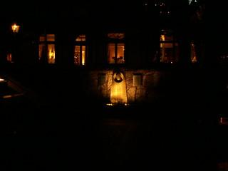 fahler Lichtschein in der Nacht von Dresden 089