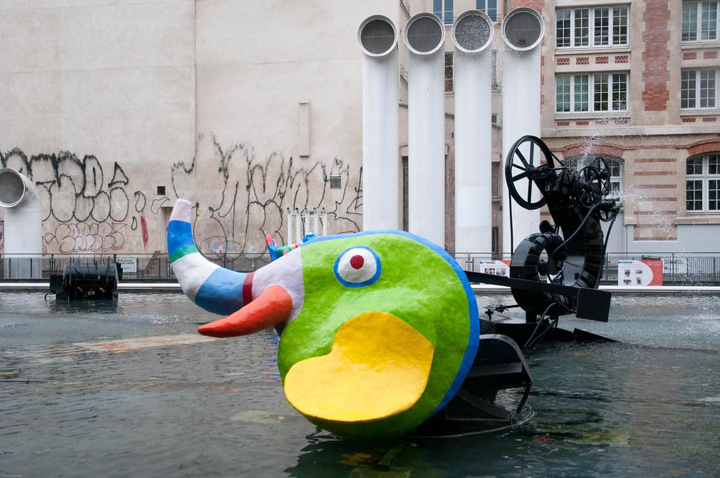 Niki saint Phalle,  Centre Pompidou (Paris)