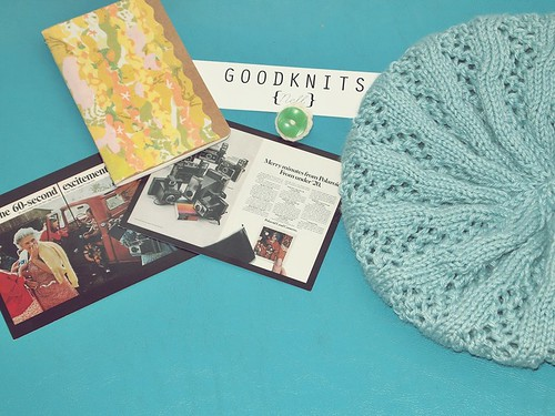 the Good Knits goodies