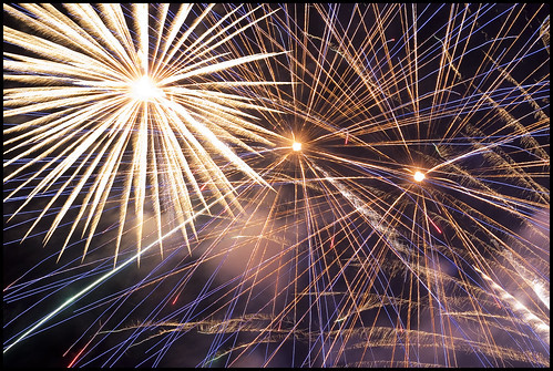 Phuket Fireworks on New Years Eve