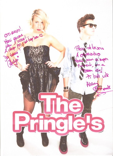 Autographe Otoradio The Pringle's