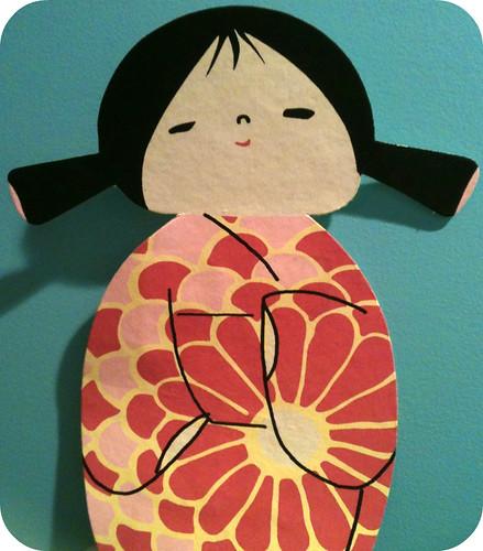 kokeshi by E. Magee