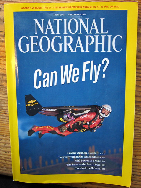 Cover of the September 2011 issue of National Geographic