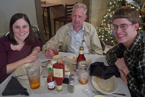 Lunch with Grandpa Burch