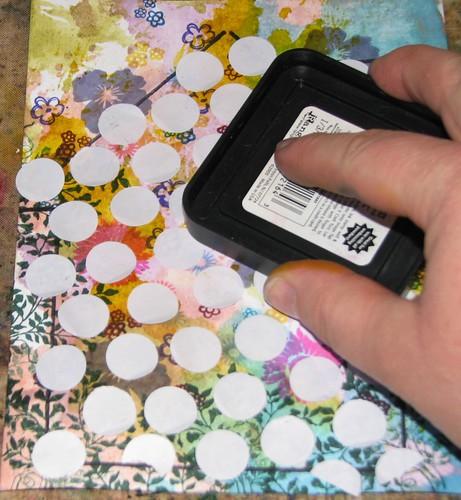 2012 Tech Calendar - April - Reverse Grid Stamping 007