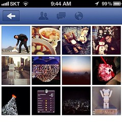 Finally... Instagram get to post on Facebook Page as a Photo!!! ^^