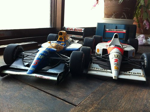 FW14B and MP4/6