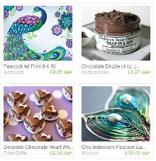 peacock and chocolate treasury