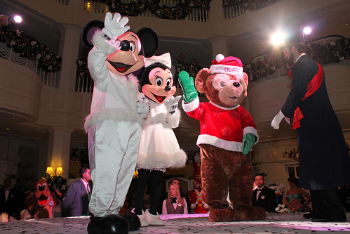 Mickey and Friends Opening Event with the Mayor of Main Street