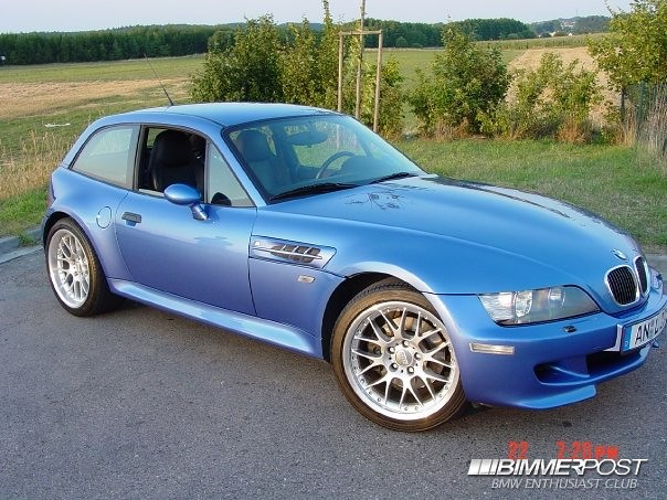 2001 M Coupe | Estoril Blue | Black | BBS CXII Wheels