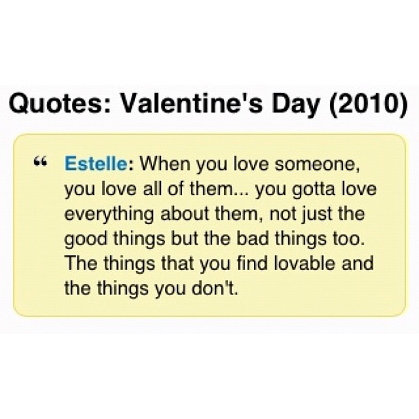 16 Valentine S Day Quotes To Share The Love: Love This...... Quotes: Valentine's Day (2010) Estelle